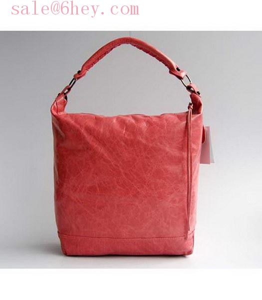 prada milano purse red